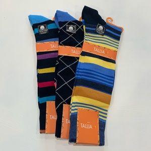 Tallia Men's Dress Socks (art of 3)